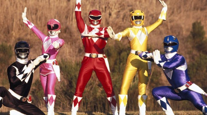 Los trajes clásicos de los 'Power Rangers'