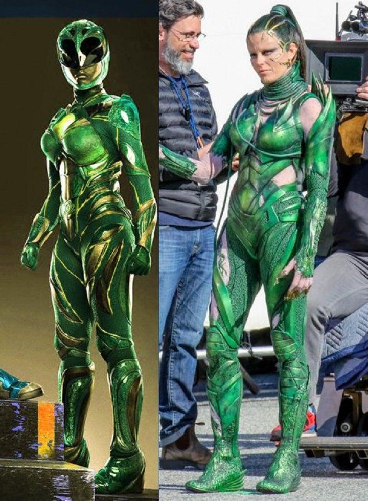 Ranger Verde y Rita Repulsa
