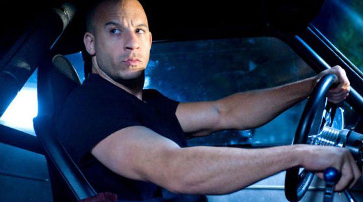 Vin Diesel en el coche