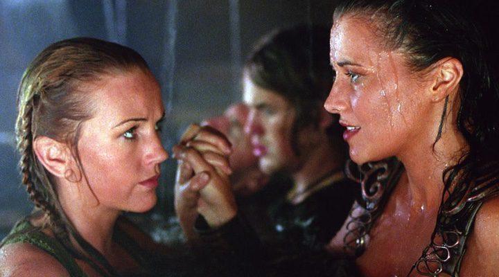 Las protagonistas de 'Xena, la princesa guerrera' mostraban una ímplicita relación homosexual