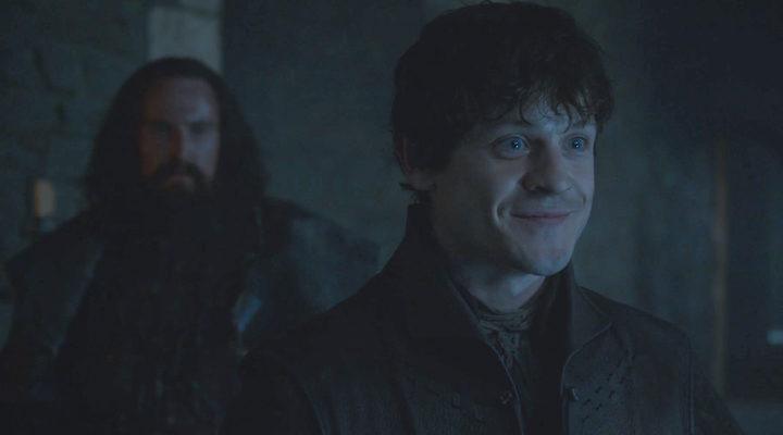 Ramsay Bolton y Jon Umber en 'Juego de Tronos'