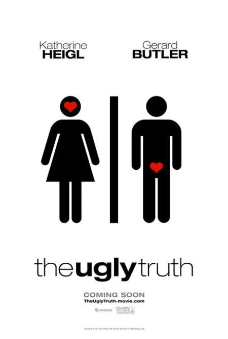 Póster final de 'The Ugly Truth'