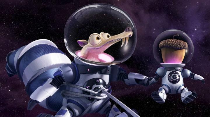 Scrat en el espacio