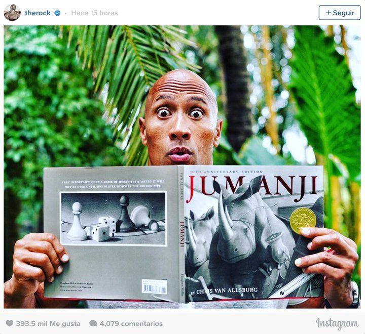 Dwayne Johnson Instagram
