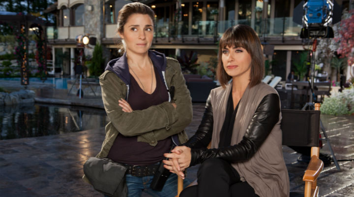 Rachel y Quinn, juntas dan miedo