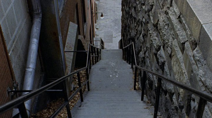 Escalera mítica de 'El exorcista'