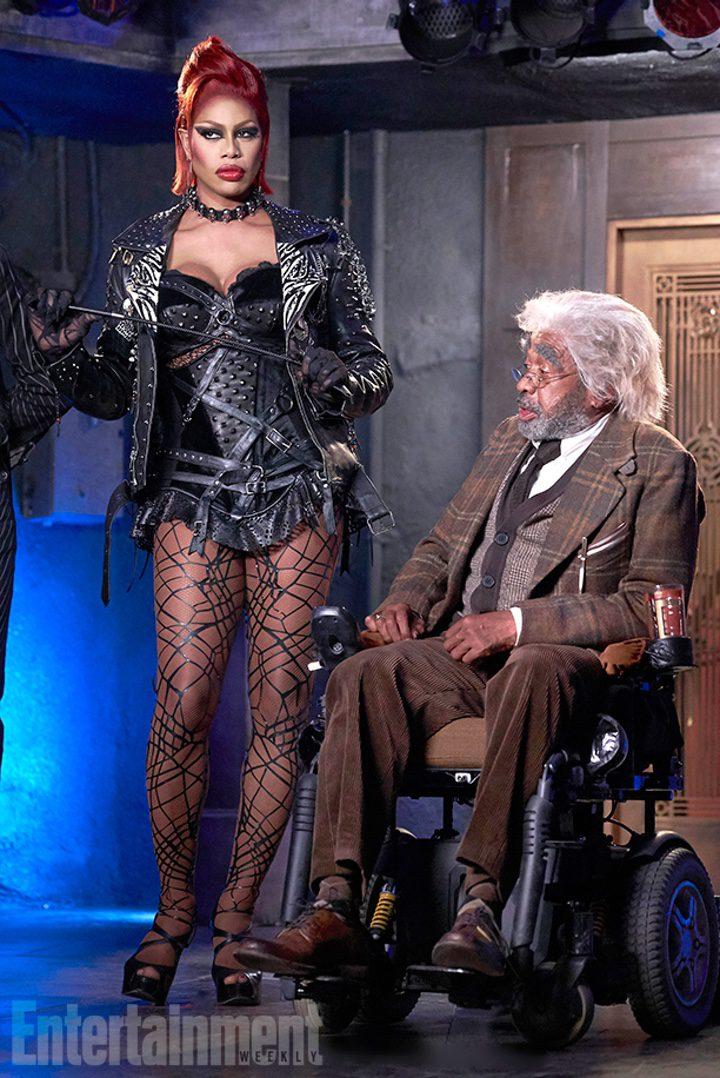 Laverne Cox como Dr. Frank-N-Furter en 'The Rocky Horror Picture Show'