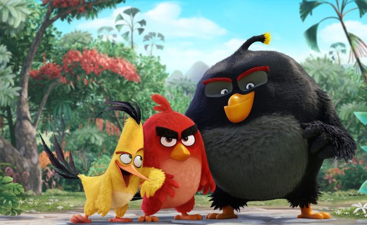 Personajes Angry Birds