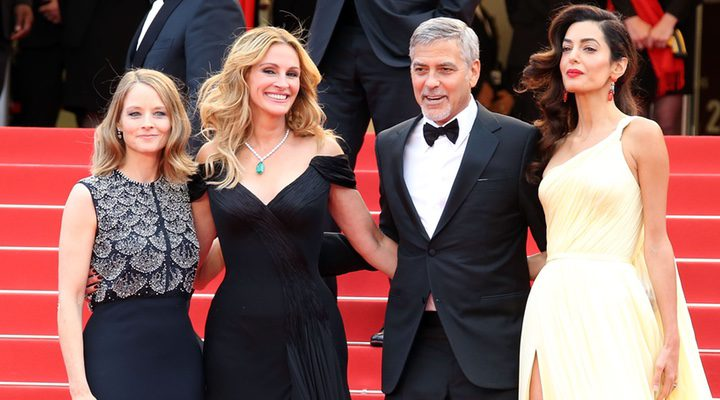 Jodie Foster, George Clooney, Julia Roberts