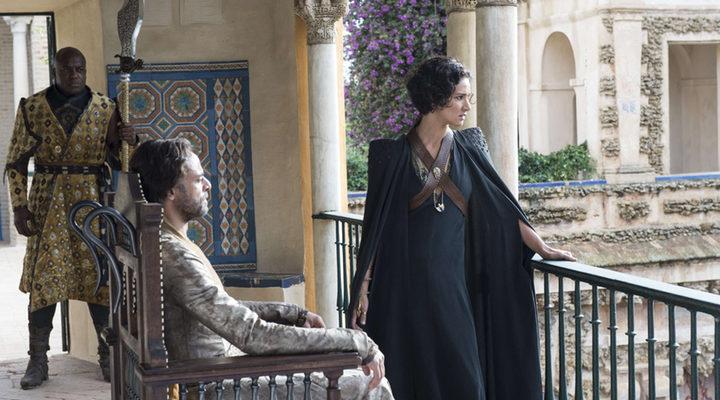 Ellaria y Doran Martell en Dorne