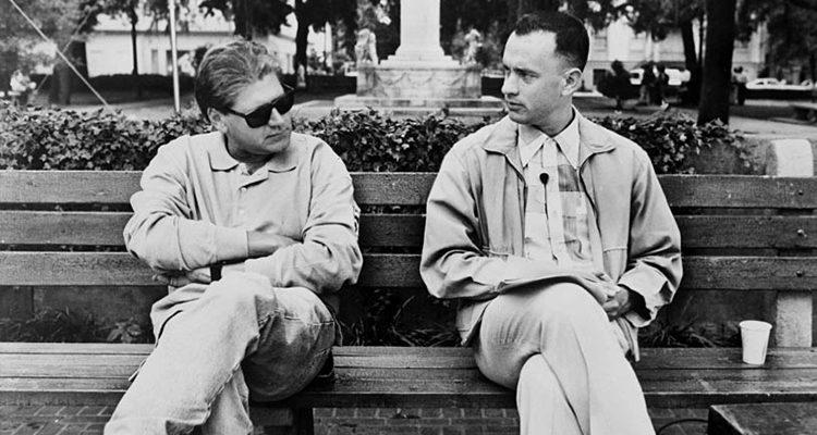 Robert Zemeckis y Tom Hanks en 'Forrest Gump'