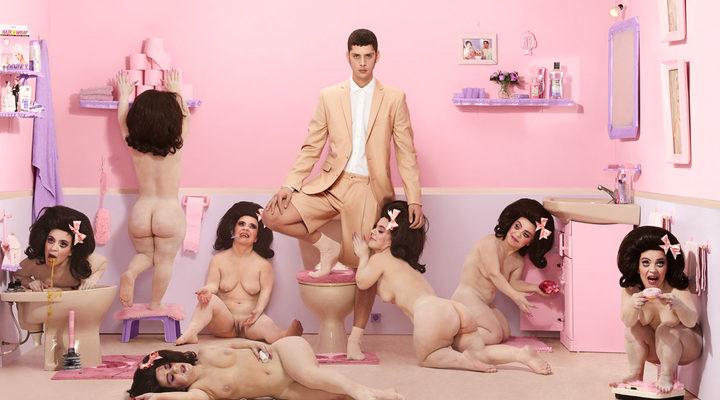 Eduardo Casanova 'La hora del baño'