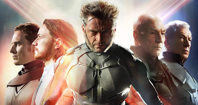 Michael Fassbender, James McAvoy, Hugh Jackman, Patrick Stewart e Ian McKellen en 'X-Men: Días del futuro pasado'