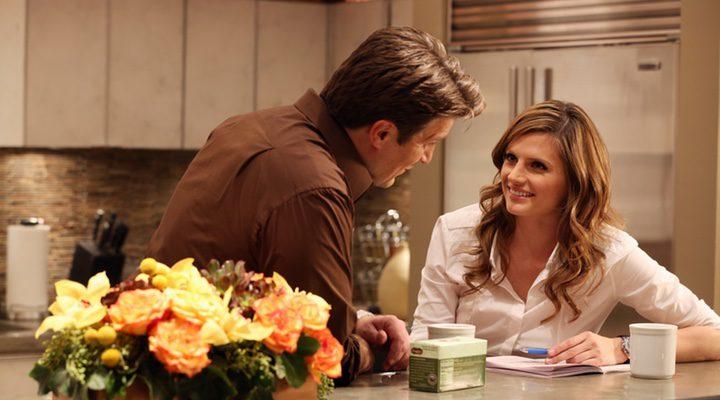 Stana Katic como Beckett y Nathan Fillon como Richard Castle en la serie de ABC 'Castle'