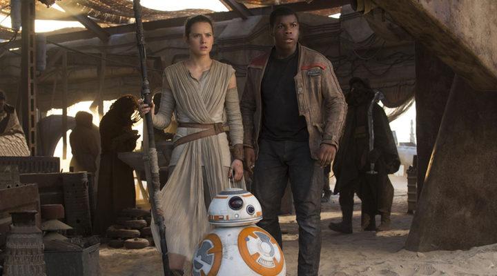 'Star Wars' Rey y Fin