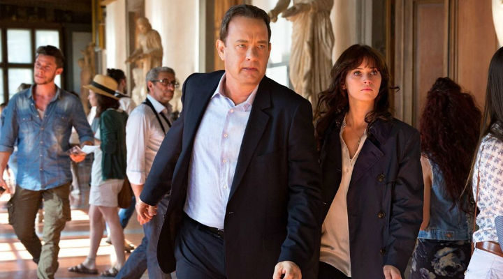 Tom Hanks y Felicity Jones en 'Inferno'