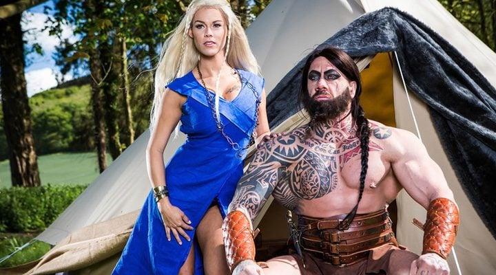 Daenerys y Khal Drogo en su versión porno
