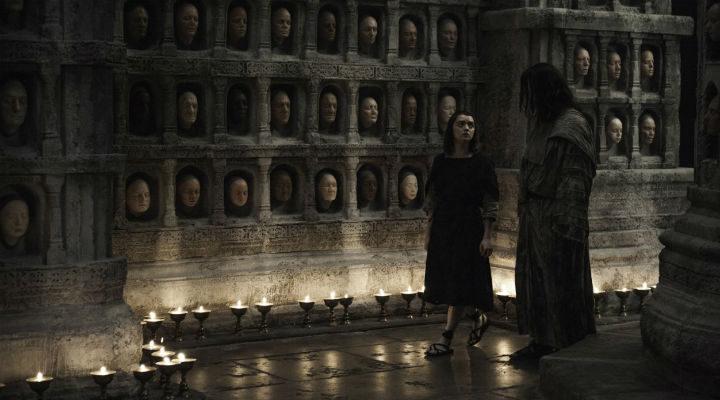 Arya en el episodio 6x05 de 'Juego de Tronos'