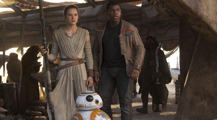 Finn, Ray y BB-8