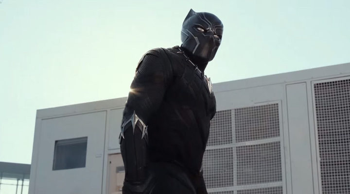 Pantera negra en 'Civil war'