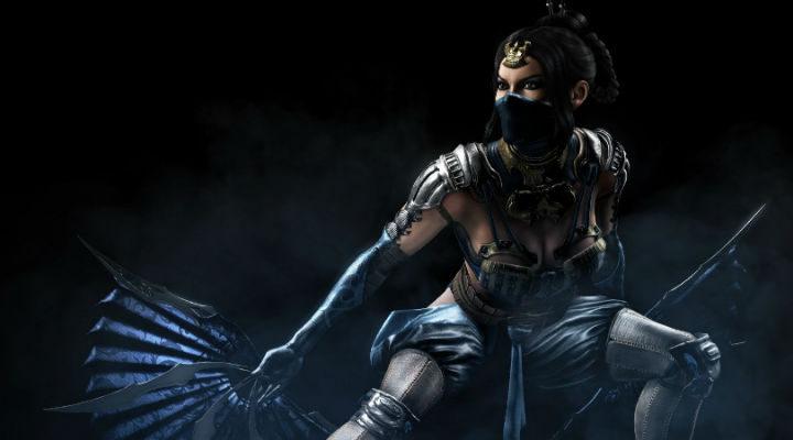 La princesa Kitana de 'Mortal Kombat'