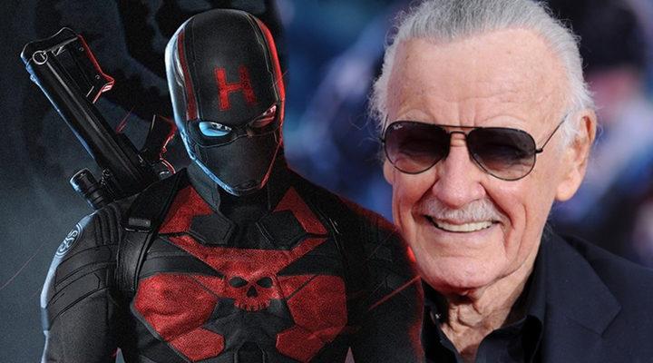 Capitán América y Stan Lee