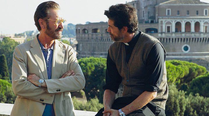 Alessandro Gassman y Marco Giallini en 'Si Dios quiere'