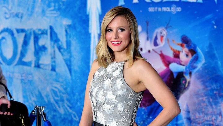 Kristen Bell en la presentación de 'Frozen: El reino de hielo'