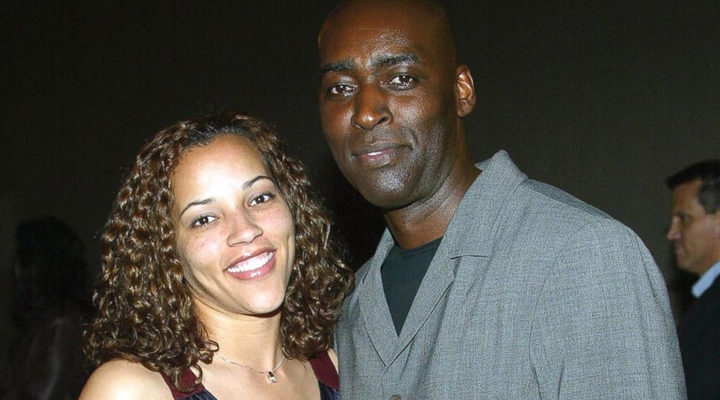 Michael Jace y su mujer April Jace