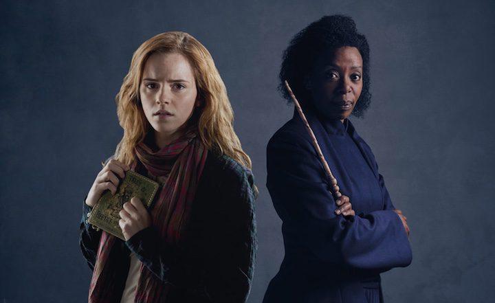 Noma Dumezweni y Emma Watson