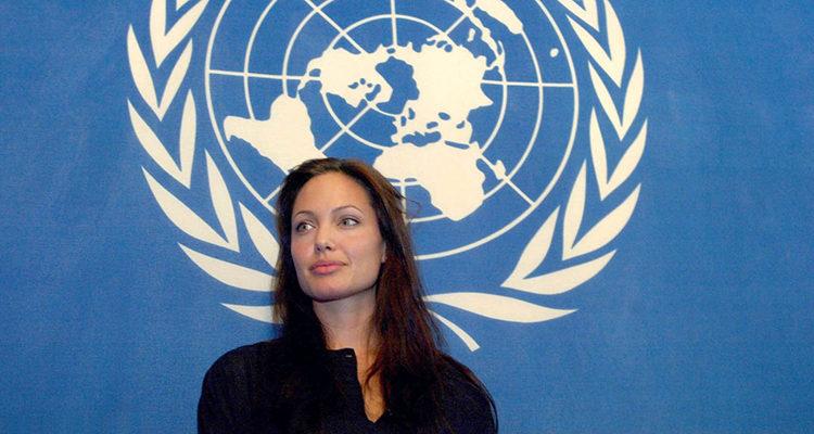 Angelina Jolie en la ONU