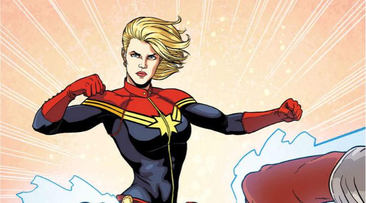 Carol Danvers como Captain Marvel