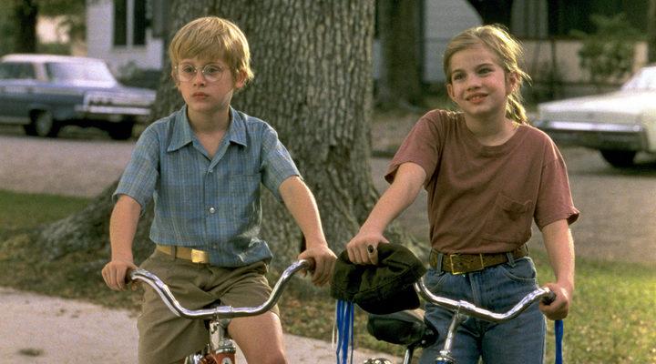 Anna Chlumsky y Macaulay Culkin en 'Mi chica'