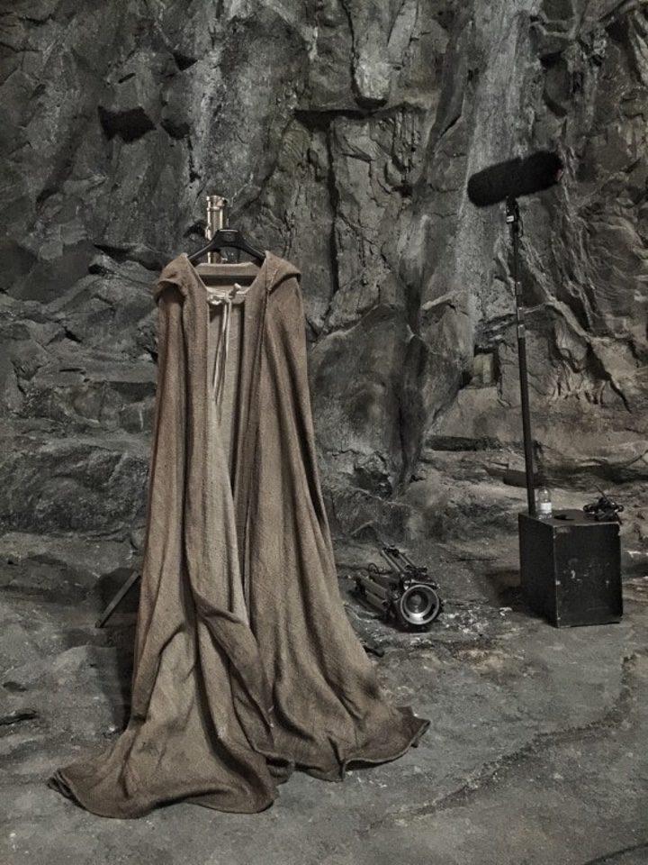 Foto del set de 'Episodio VIII' de Star Wars