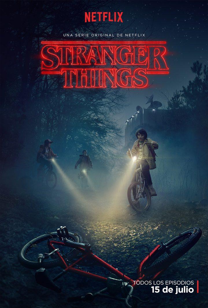 Póster español de 'Stranger Things'