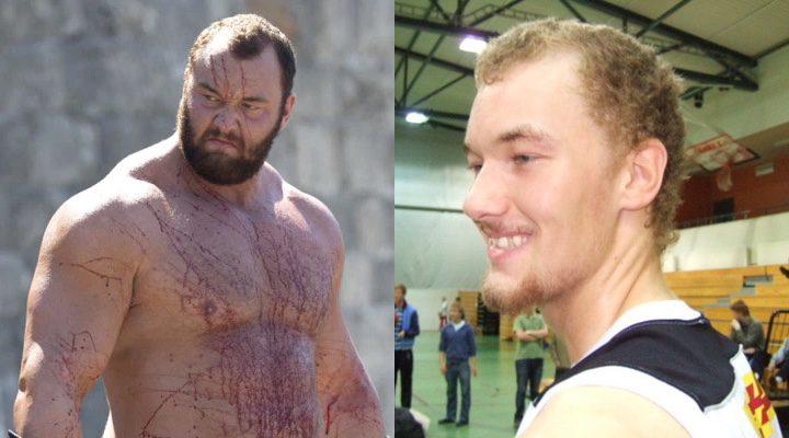 Antes y después de La Montaña de 'Juego de Tronos'