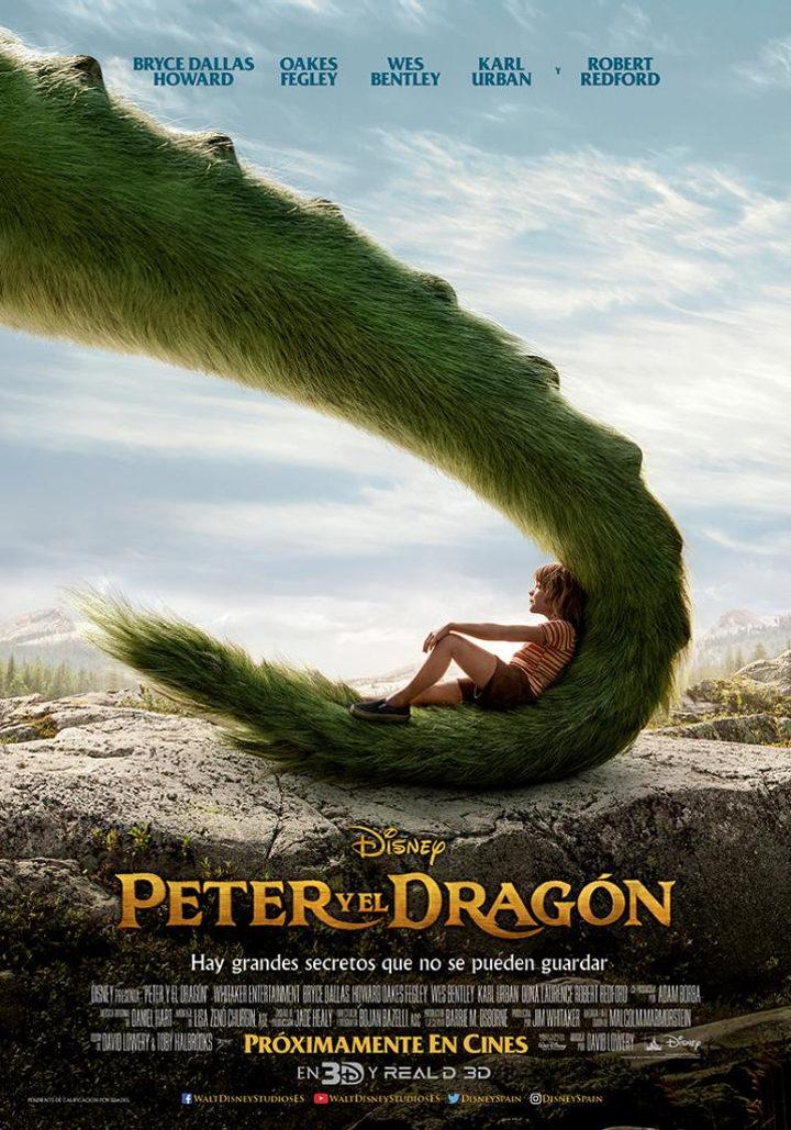 Póster de 'Peter y el dragón'