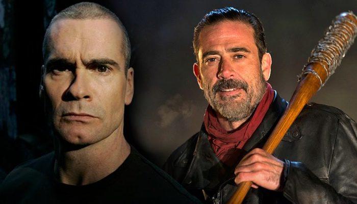 Henry Rollins y Jeffrey Dean Morgan en 'The Walking Dead'