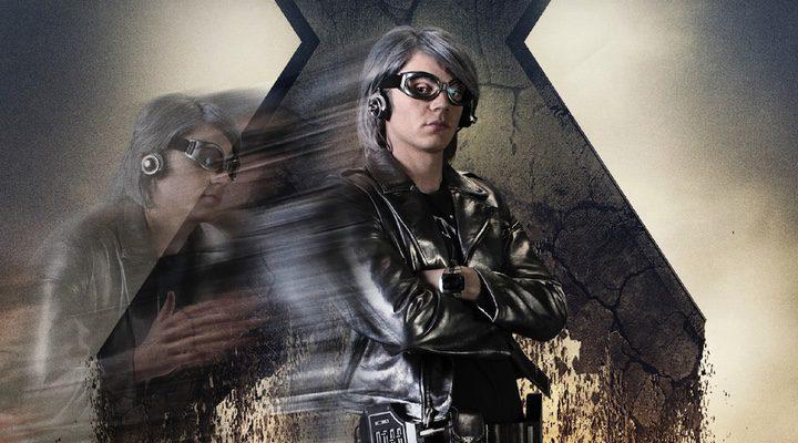 Evan Peters como Mercurio en 'X-Men: Apocalipsis'