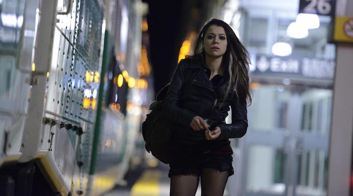 Tatiana Maslany en una escena de la serie.