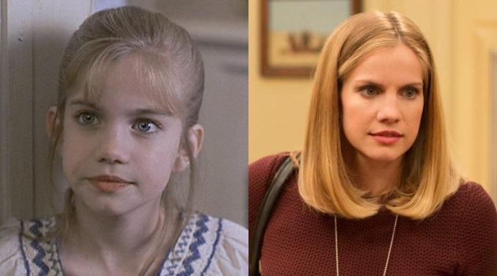 Anna Chlumsky antes y ahora