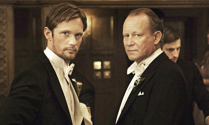 Padre e hijo Skarsgård en 'Melancholia' de Lars Von Trier