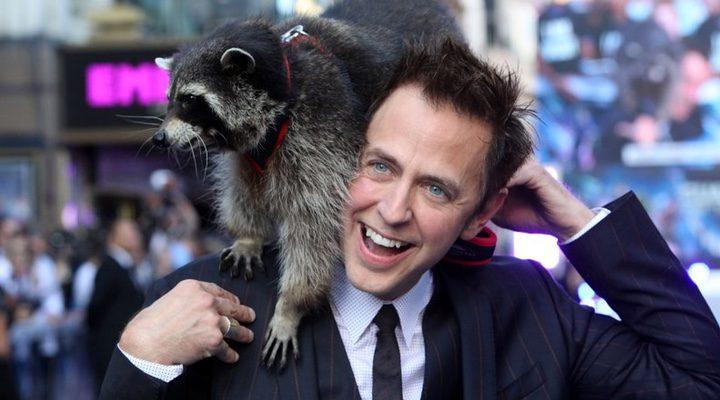 James Gunn y Rocket Raccoon
