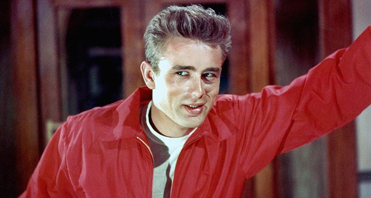 James Dean en 'Rebelde sin causa'