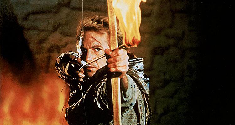 Kevin Costner en 'Robin Hood, príncipe de los ladrones
