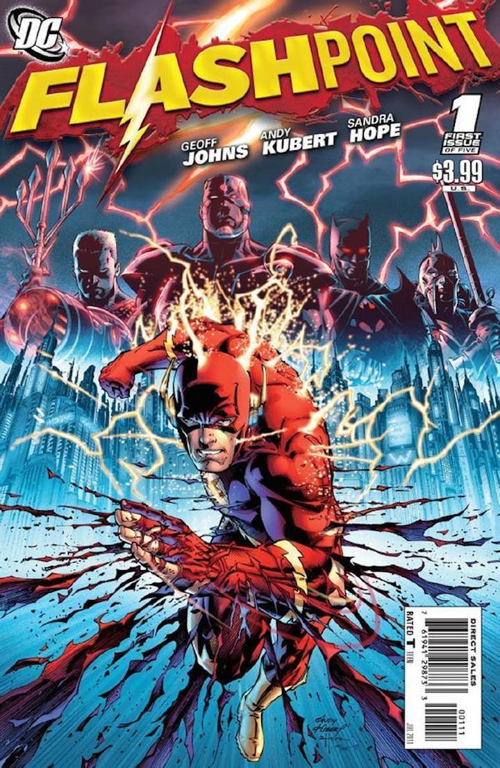 Portada del cómic 'Flashpoint'.