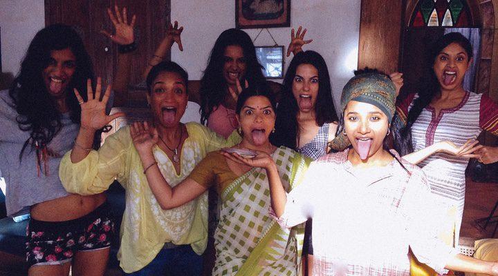 Fotograma de '7 diosas' con sus protagonistas principales