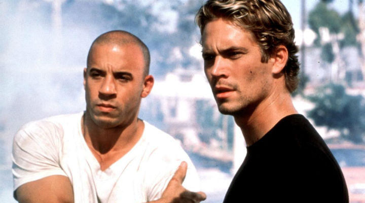 Vin Diesel y Paul Walker en 'A todo gas'