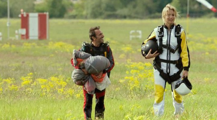 Diane y Alexandre paracaidismo