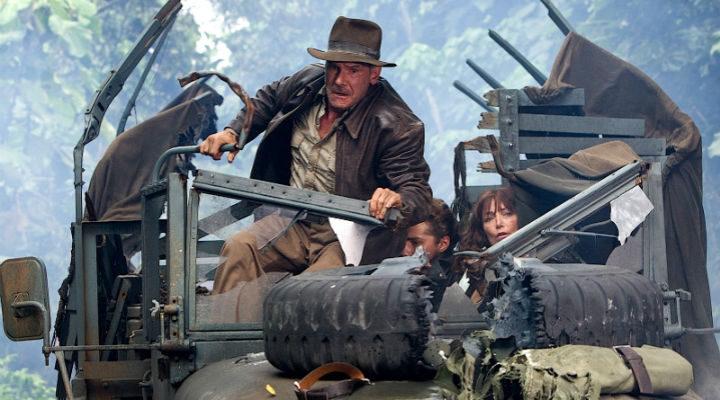 Una escena de 'Indiana Jones y el reino de la calavera de cristal'